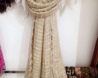 Fashion Scarves  - hand made - 80 cm x 190 cm