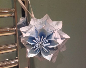 Oragami Kissing Ball