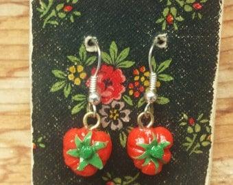 Beefsteak Tomato Earrings