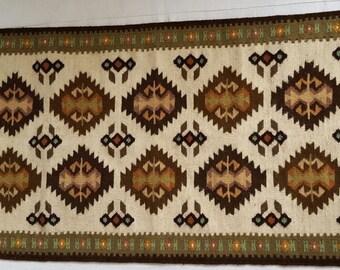 unique handwoven wool rug