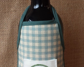 Wine Bottle Apron, Thank You, Novelty Gift, Unique Gift Idea