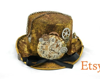 Steampunk Top Hat / Cosplay Hat / Comic con