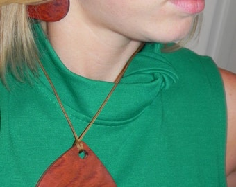 Bubinga Necklace