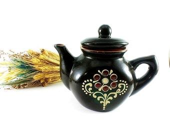 Painted Tea Kettle Etsy