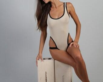 Bodysuit beige  Sz S