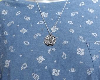 A beautiful spiral celtic  pendant