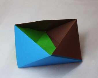 Triangle Box / Storage Box / Gift Box / Candy Box / Treat Box