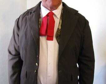 Gambler/Gunslinger costume-5 piece outfit-coat, vest, shirt, hat, prop gun/holster