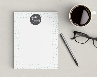 Personalized Notepad Mini Dot