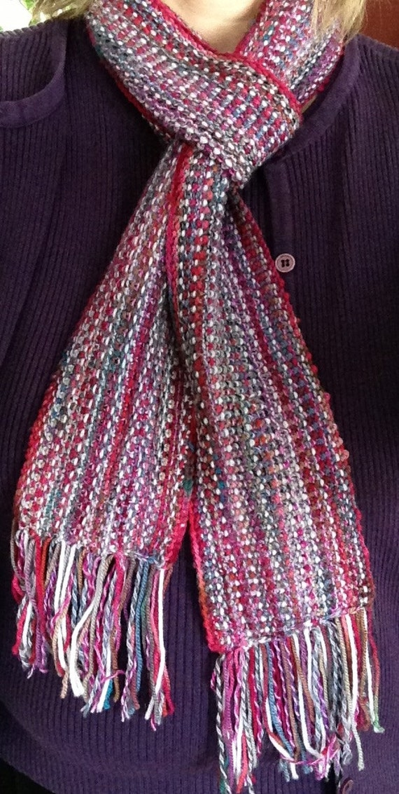 What Knit Stitch For Scarf : Hand Knit Linen Stitch Scarf