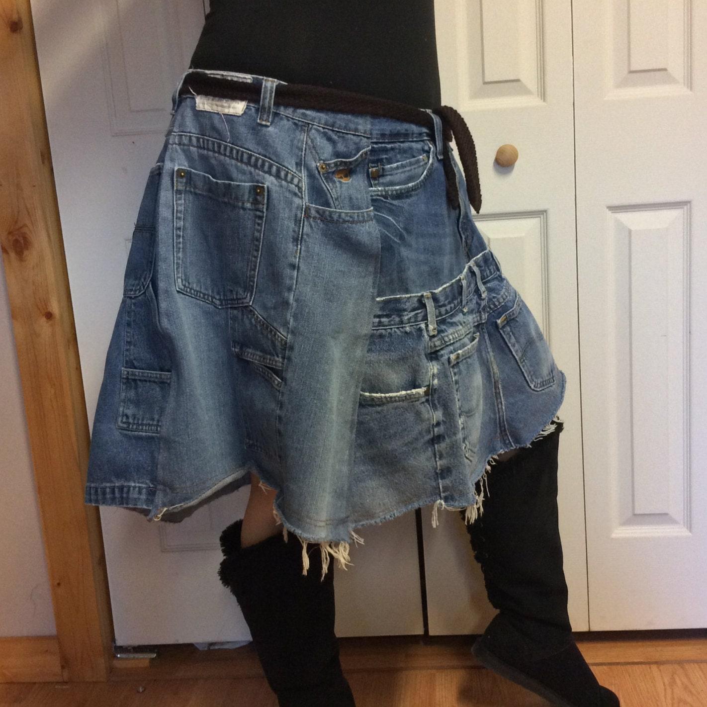 3xl jean skirt plus size skirt blue jean skirt