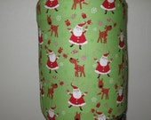 Santa with Red Suit-5 gallon Cooler decor-Water dispenser Cover