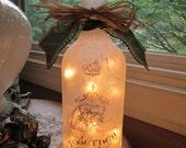 Wine Bottle Light~Family