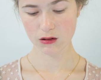 Unique Gold necklace, 14k yellow Gold necklace, Gold Filigree necklace, love necklace gold, solid gold necklace,
