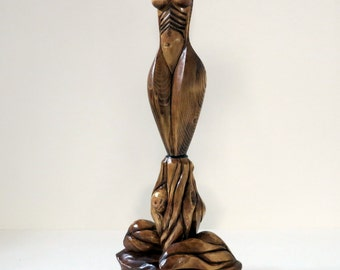 Surreal Women Figure Art Sculpture