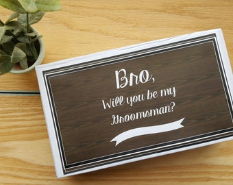 Groomsman Proposal Groomsmen Gift Groomsmen Proposal