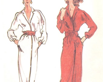 Halston wrap dress pattern -- McCall's 7020