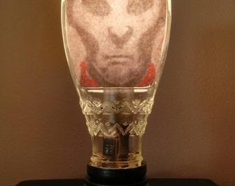 Tiny Headshot Accent Lamp Night Light