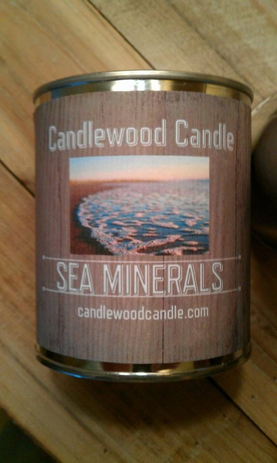 SEA MINERALS -PERSONALIZED Gift, Gift for anyone, Custom Gift, Send your message, Free Shipping in United States 16 0z