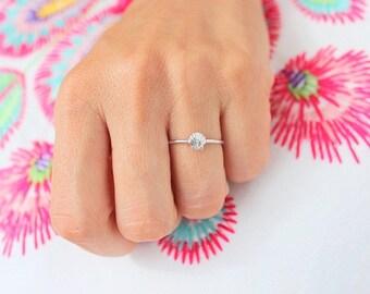 Mermaid Stacking Ring, Seashell Ring, Mermaid Ring, Boho Rings, Boho Jewelry, Gold Stacking Rings, Gift for Her, Silver Stacking Rings