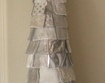 White and Silver Owl Tree