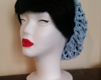Cotton Hair Snood for Spring / Summer / Casual Romantic Look 100% Cotton