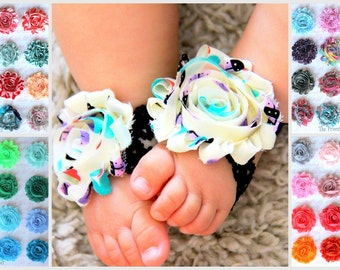 Baby Barefoot Sandals - Choose your Colors - Barefoot Baby Sandals - Baby Shoes - Baby Barefoot Sandles - Barefoot Sandals Wedding - Toddler