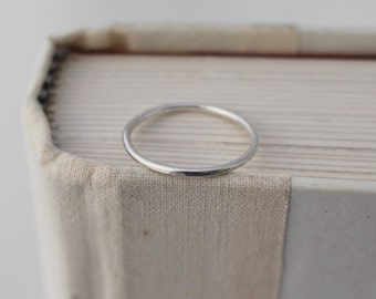 Thin Sterling Silver Bands, Sterling Silver Stacking Rings, Argentium Sterling Silver Stacking Rings, Band Rings