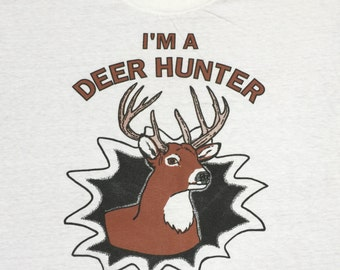 Vintage Deer Hunter Graphic T-Shirt