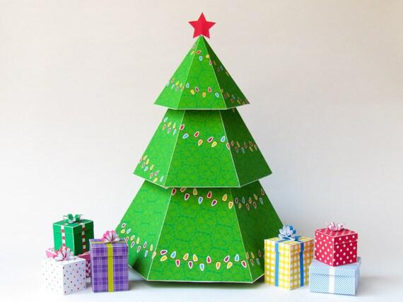 fold cut christmas tree pdf