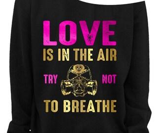 anti valentines day shirt foil ladies shirt anti love try not to - Valentines Day Shirts Ladies