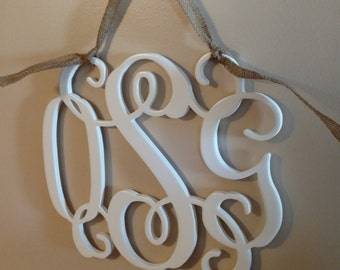 Burlap Ribbon - Add-on to any monogram