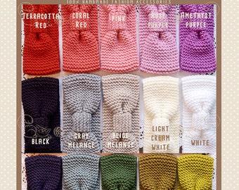 Knit Headbands, Knit Ear Warmers, Knit Head Wrap, Knitted Headband, Knitted Ear Warmer, 15 pieces, Wholesale Headbands, Wholesale Earwarmers