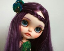RESERVED For Eliana,  Ooak  Unique Twin Berries Custom Blythe Doll : ELOISE for Adoption (Second Payment )