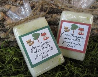 Woodland Theme Baby Shower Favor Woodland Themed Baby Shower Favor Fox Soap Favor  Woodland Baby Shower