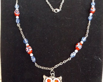 Owl  Necklace   the gift of  wisdom