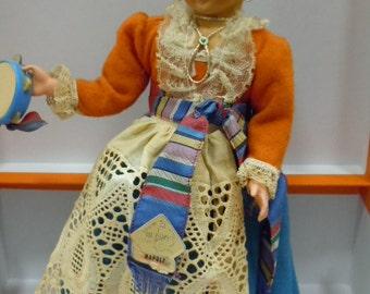 Doll Doll Magis (Rome) regional costume Naples