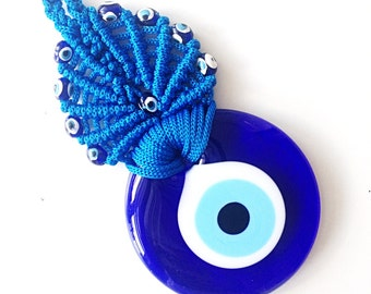 Evil Eye Wall Hanging evil eye bead 15 cm evil eye wall hanging evil eye decor