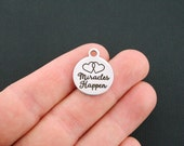 Miracles Happen Stainless Steel Charms - Exclusive Line - Quantity Options - BFS1076