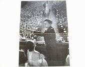 Kennedy Inauguration, Vintage Life Magazine, Kennedy Inaugural Spectacle, 1961, JFK, Presidential Election, Jackie O, Frank Sinatra