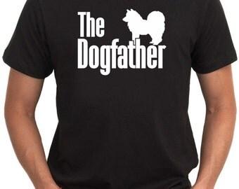 The dogfather American Eskimo Dog T-Shirt