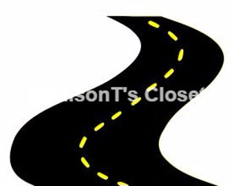 Road Street Highway SVG Cutting Digital File Only