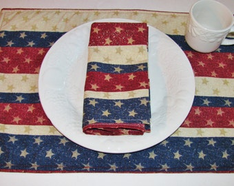 Stars & Stripes Placemats