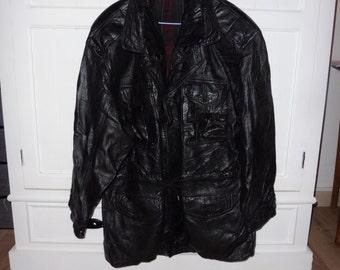 Leather jacket size M