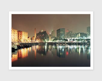 Salthouse Dock, 2016 --- Signed/Free Postage