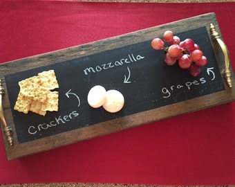 Chalk board tray / sign