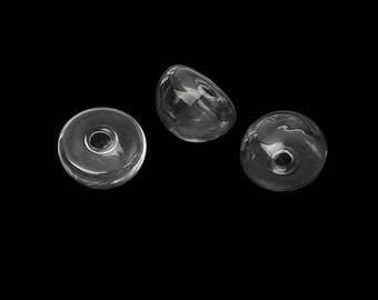5 domes in glass hemisphere 21mm