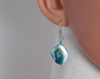 Molten Glass Earrings Necklace