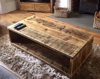 MARIBEL | Reclaimed Wood Coffee Table - Handmade & Bespoke