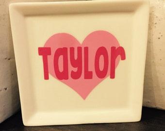 Valentine's Jewelry Tray